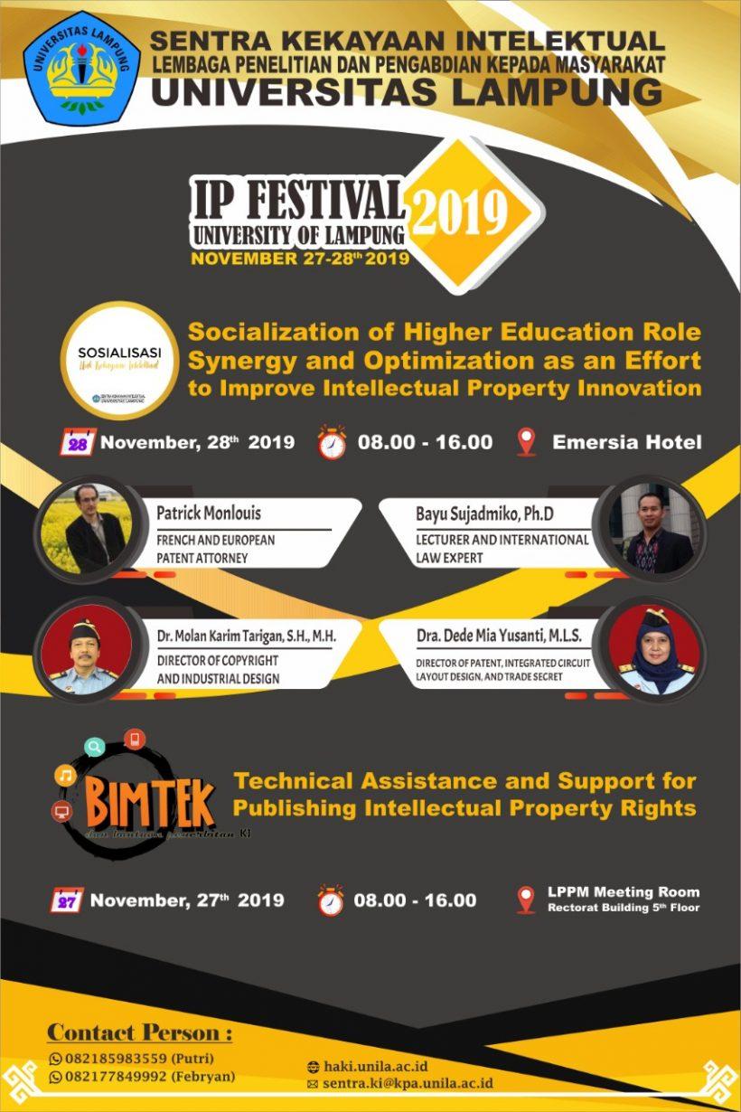 IP Festival Unila 2019